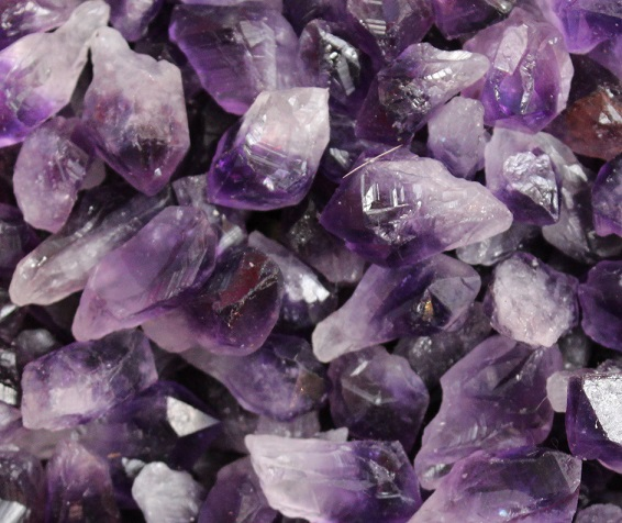 Amethyst Natural Points -