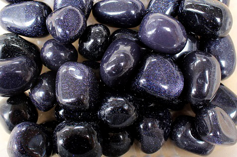 Blue Sandstone Tumbled 250gm