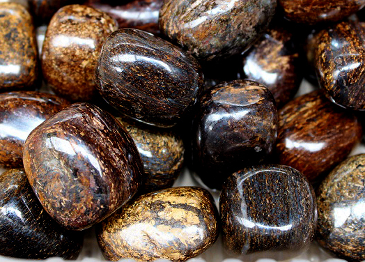 Bronzite Tumbled 250gm