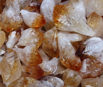 Citrine Natural Points -
