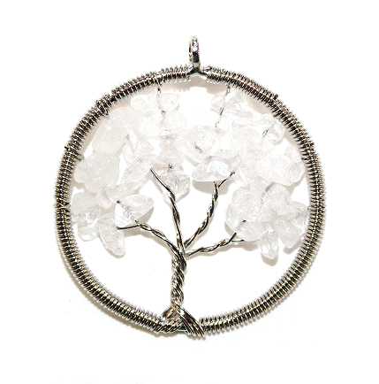 Clear Quartz Tree of Life