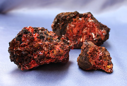 Crocoite Cluster 3pc