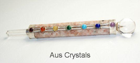 Sunstone Healing Wand