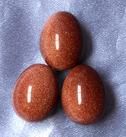 Goldstone Egg 1pc