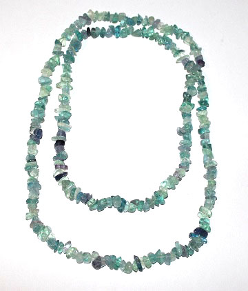 Fluorite Chip Necklace