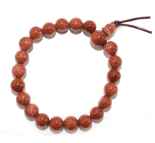 Goldstone Power Bracelet