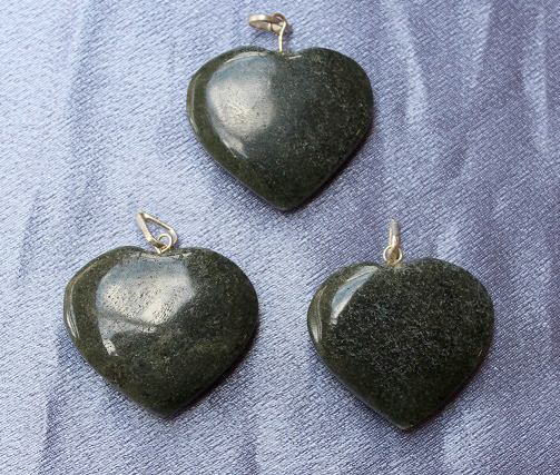 Green Aventurine Dark Hea