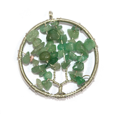Green Aventurine Tree of