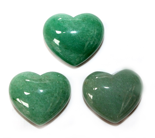 Green Aventurine Heart 1p