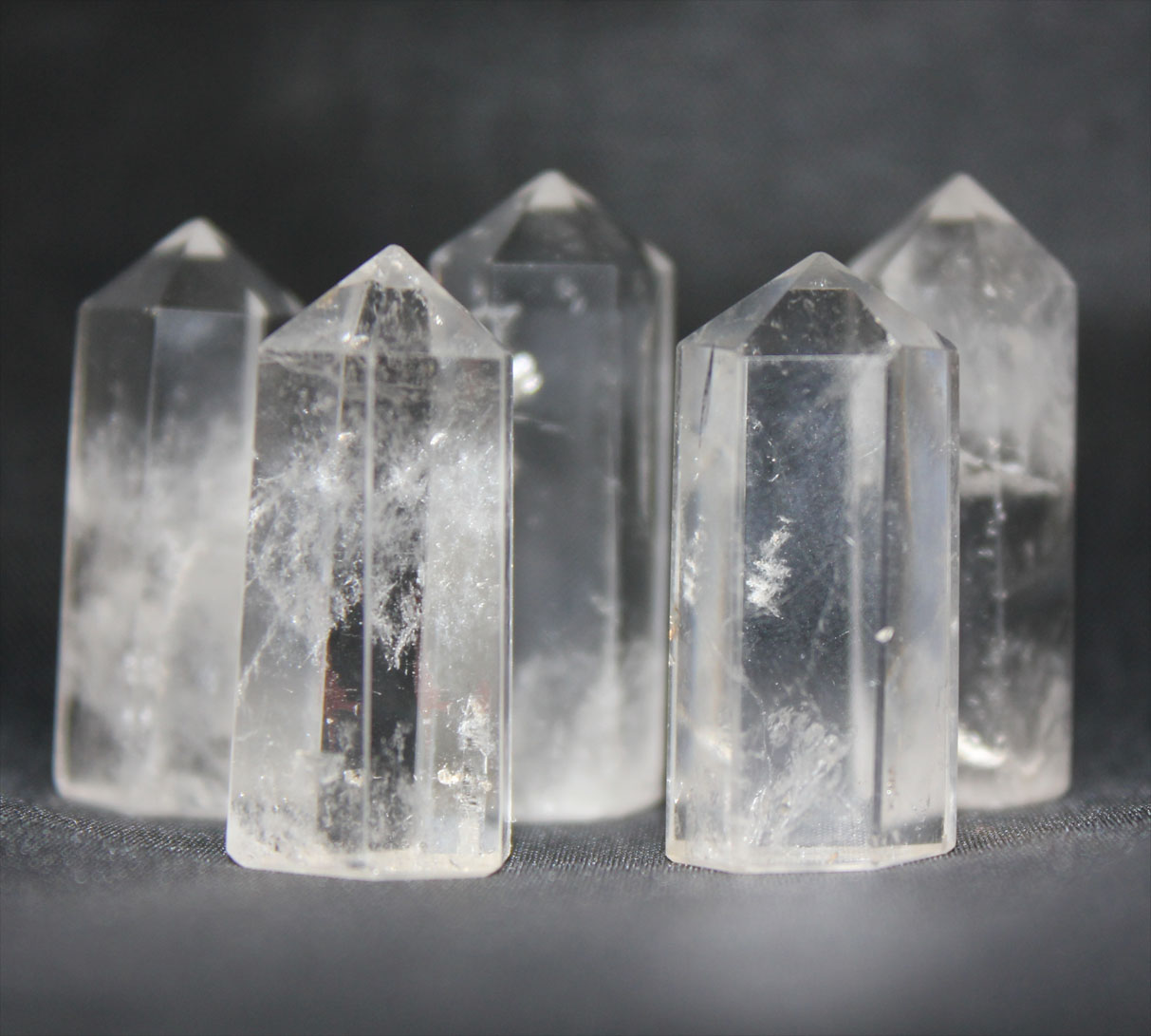 Clear Quartz Obelisk Smal