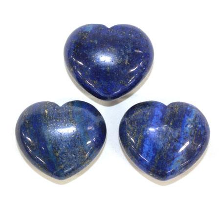 Lapis Lazuli Heart 1pc