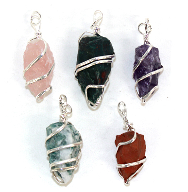 Assorted Spiral Pendant -