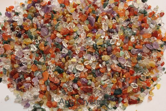 Mix Crystal Chips 1KG