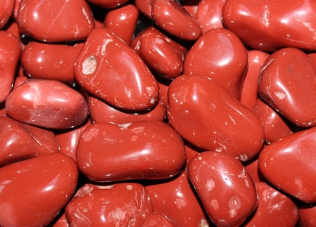 Red Jasper Tumbled 1KG