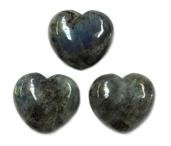 Labradorite Heart 1pc