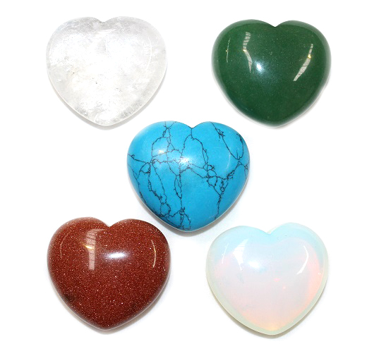 Mixed Heart Pack 5pc