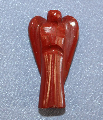 Red Jasper Angel Small
