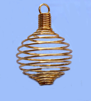 Round Spiral Cage - Gold Color Soft