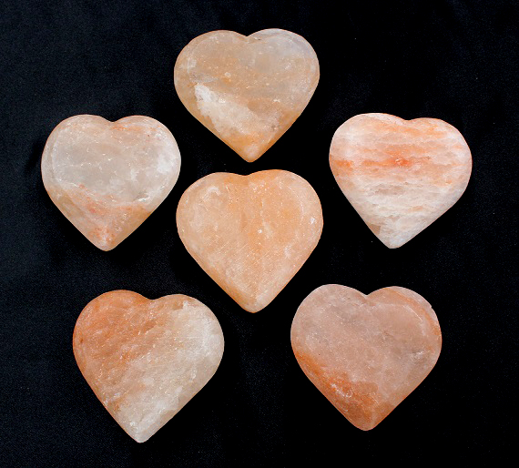 Himalayan Salt Heart Pack