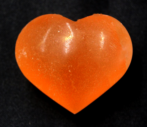 Selenite Heart Small Oran