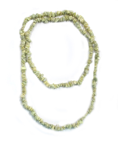 Serpentine Chip Necklace