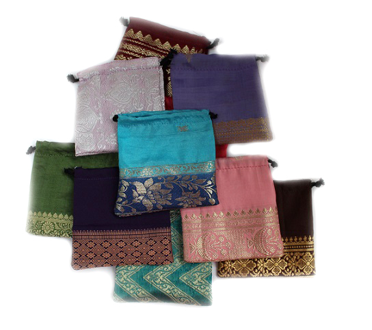 Silk Pouches Bulk Buy