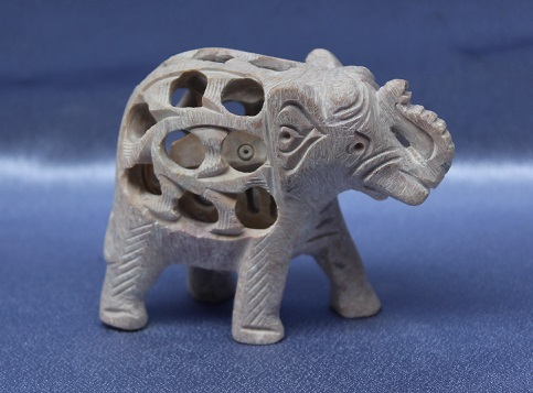 Soapstone Elephant Small
