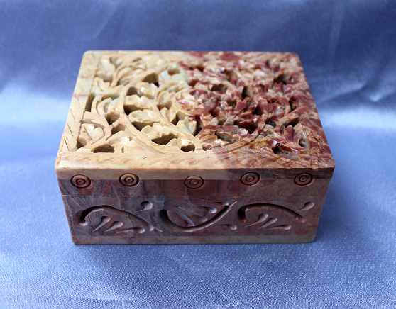 Soapstone Rectangle Box N