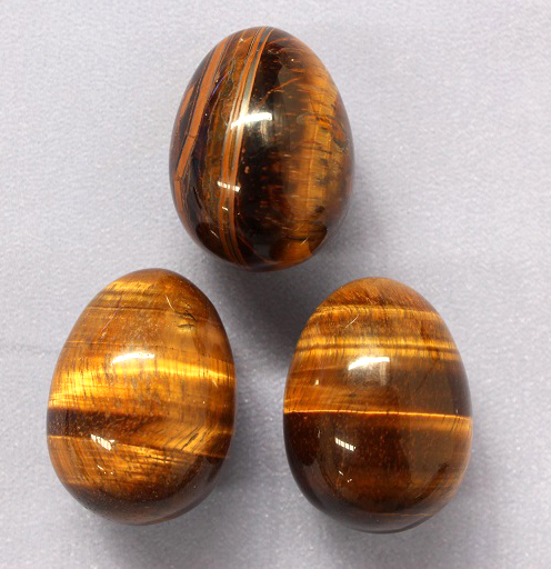Tigers Eye Egg 1pc
