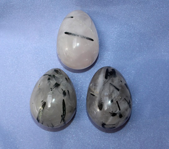 Tourmalated Quartz Egg 1p