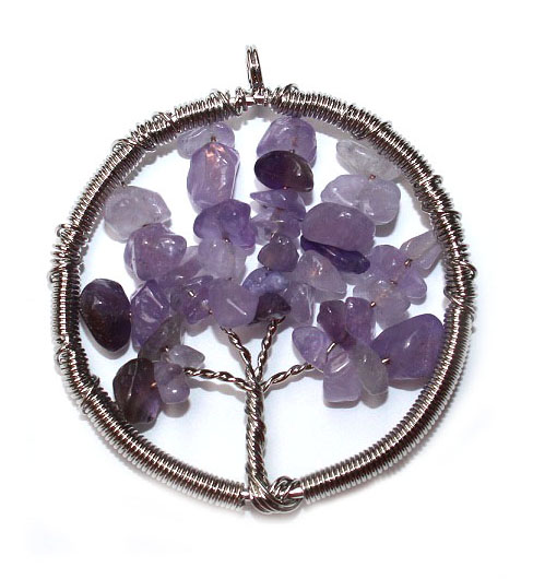 Amethyst Tree of Life Pen