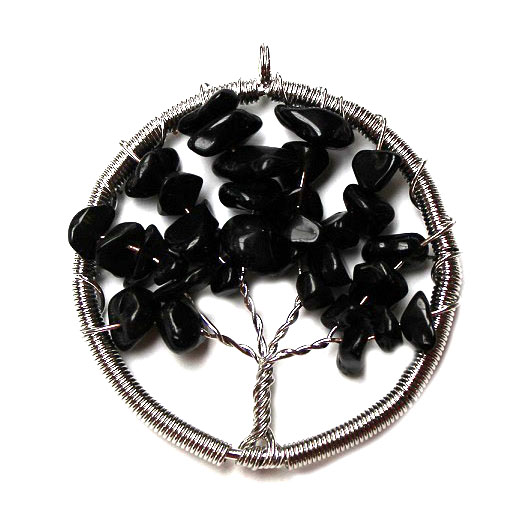 Black Onyx Tree of Life P
