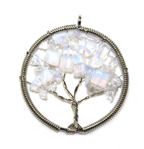 Opalite Tree of Life Pend