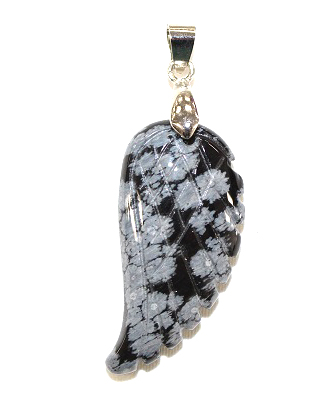 Wing Snowflake Obsidian P