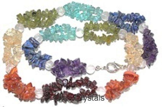 Chakra Necklace Double St