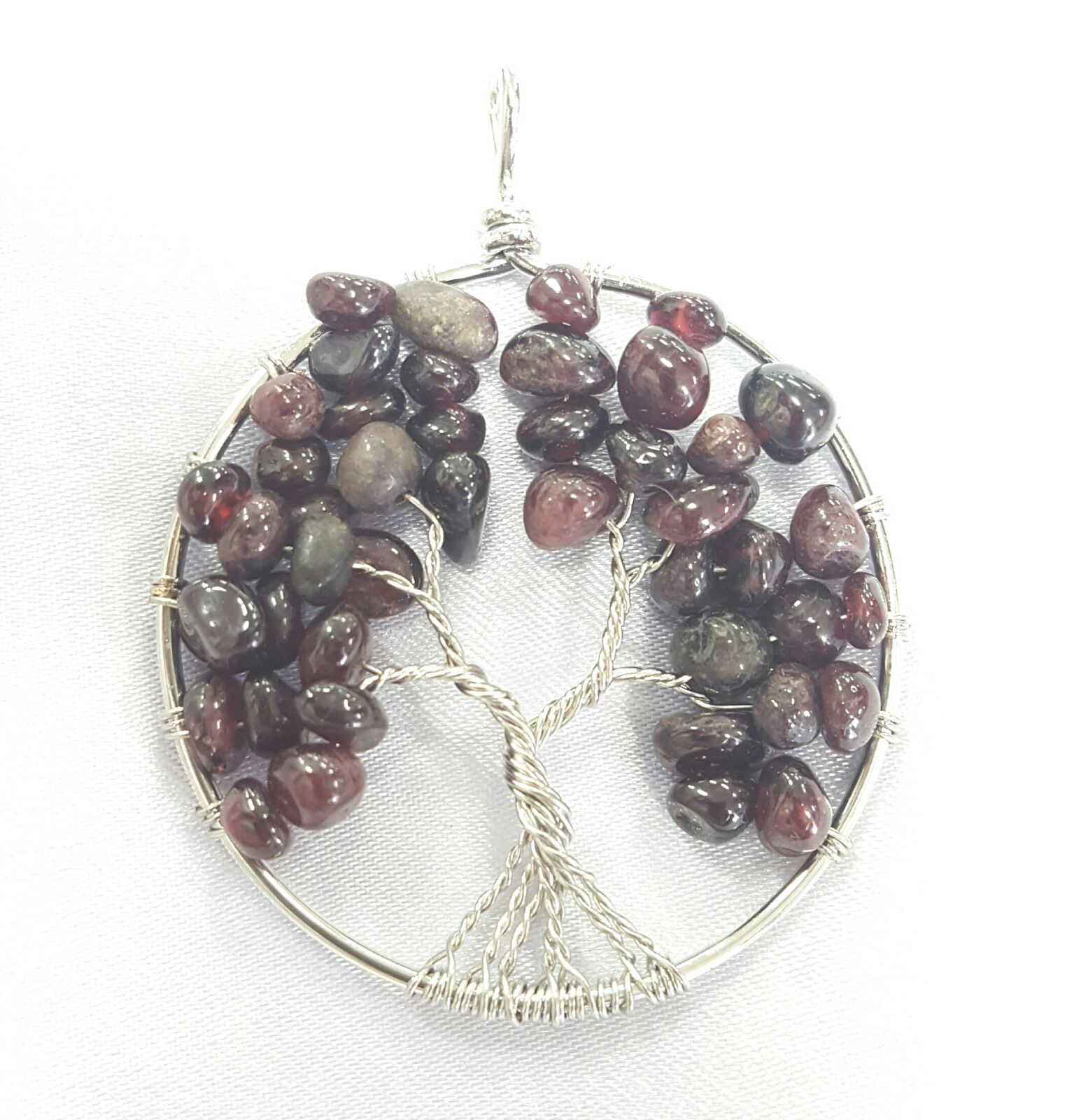 Garnet Tree of Life Penda