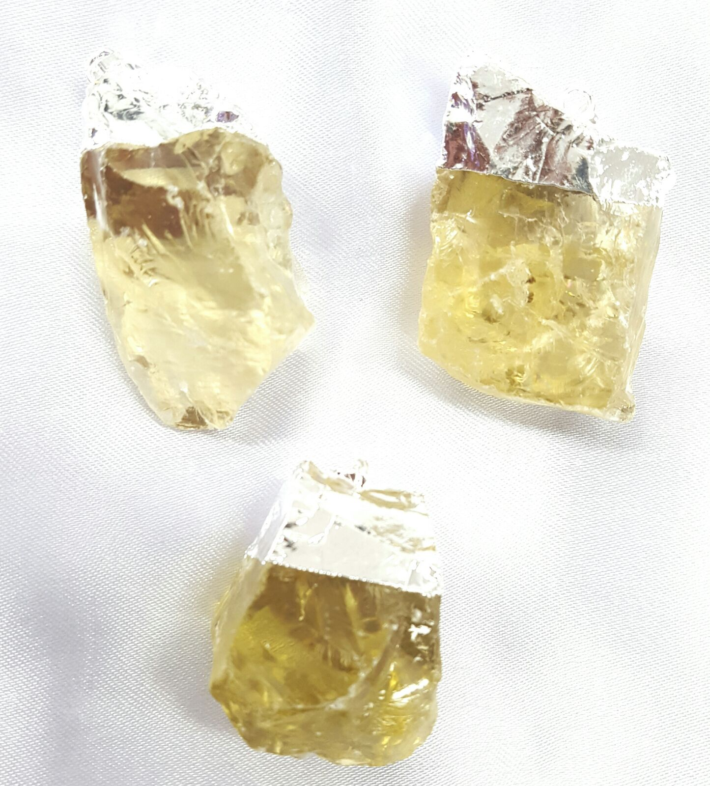 Lemon Quartz Rough Pendan